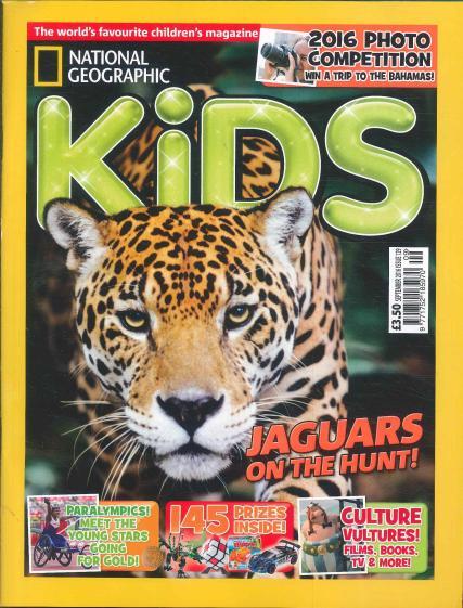 national geographic kids jaguar magazine