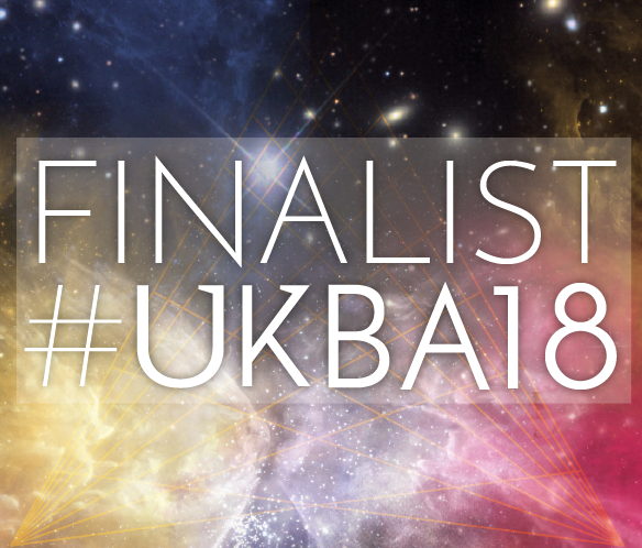 UK Blog Awards 2018 finalist badge