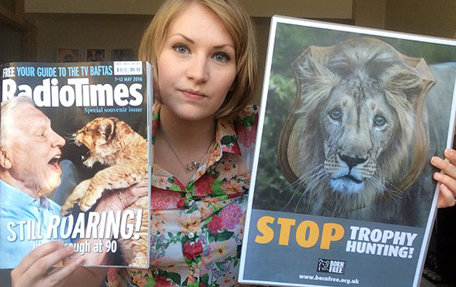 David Attenborough responds: Lions in the balance and Radio Times magazine