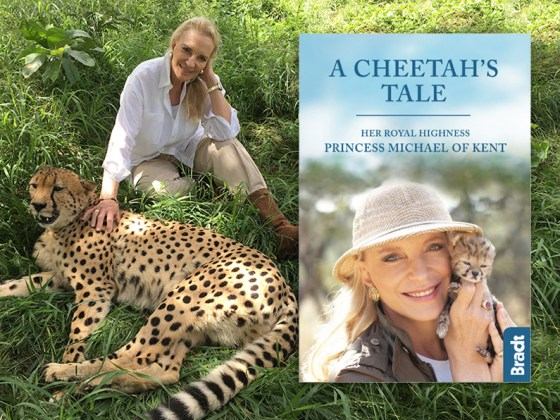 cheetahs tale book by princess michael of kent