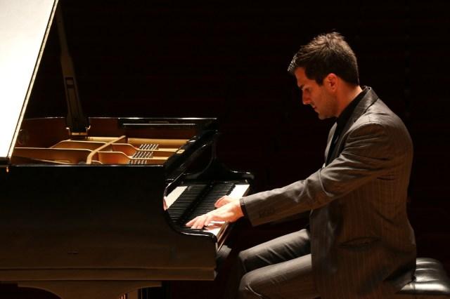 Panos Karan at piano