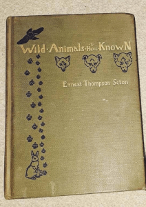Ernest Thompson Seton - wild animals I have known book