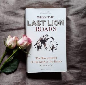 When the Last Lion Roars book by Sara Evans competition