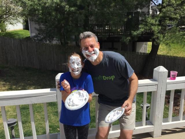 Gorilla heroes - Addy and David Singer gorilla pie challenge