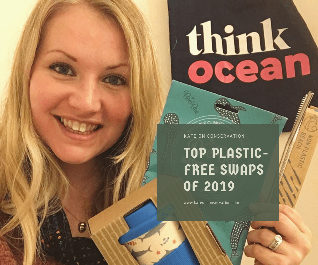 kate on conservation plastic swaps 2019