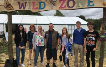 Birdfair-youth-panel-standing-in-wild-zone