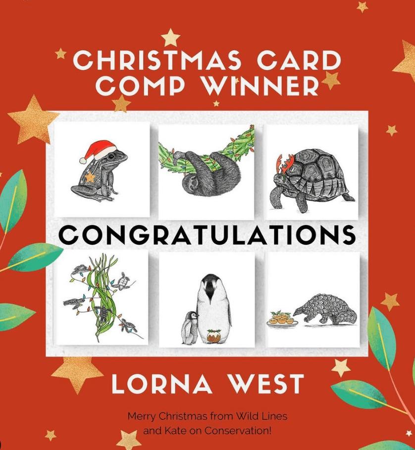 christmas cards comp winner