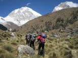 Chopicalqui hike in to BC