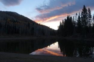 Sunrise at Dog Lake