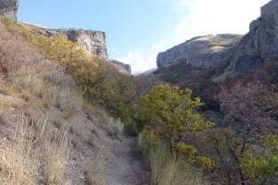 Heading up Dry Canyon