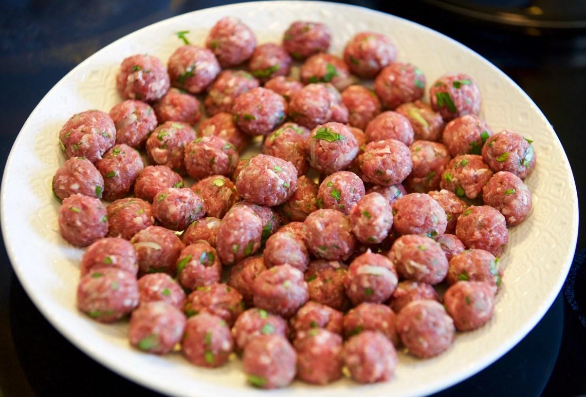 Meatball Kebabs Recipe