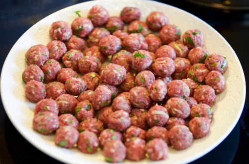 Meatball Kebabs Recipe