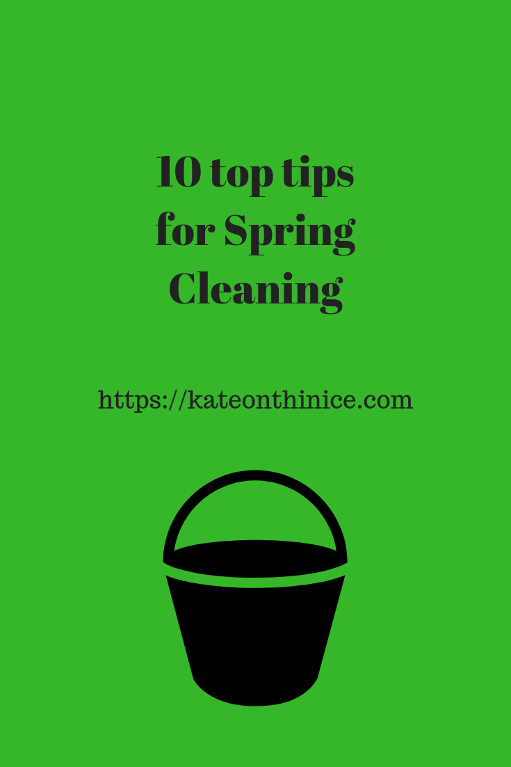 10 Top Tips For Spring Cleaning