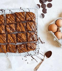Healthy Chocolate Chip Brownies