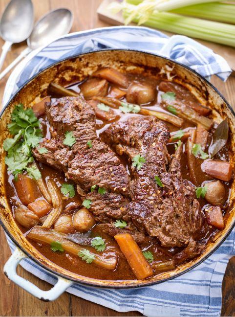Slow Cooked Brisket Of Beef