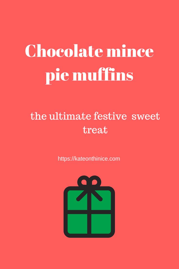 Chocolate Mince Pie Muffins