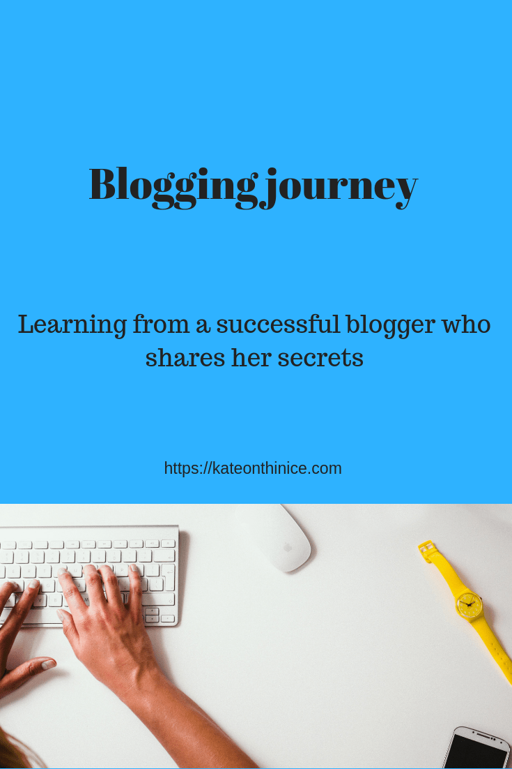 Blogging Journey
