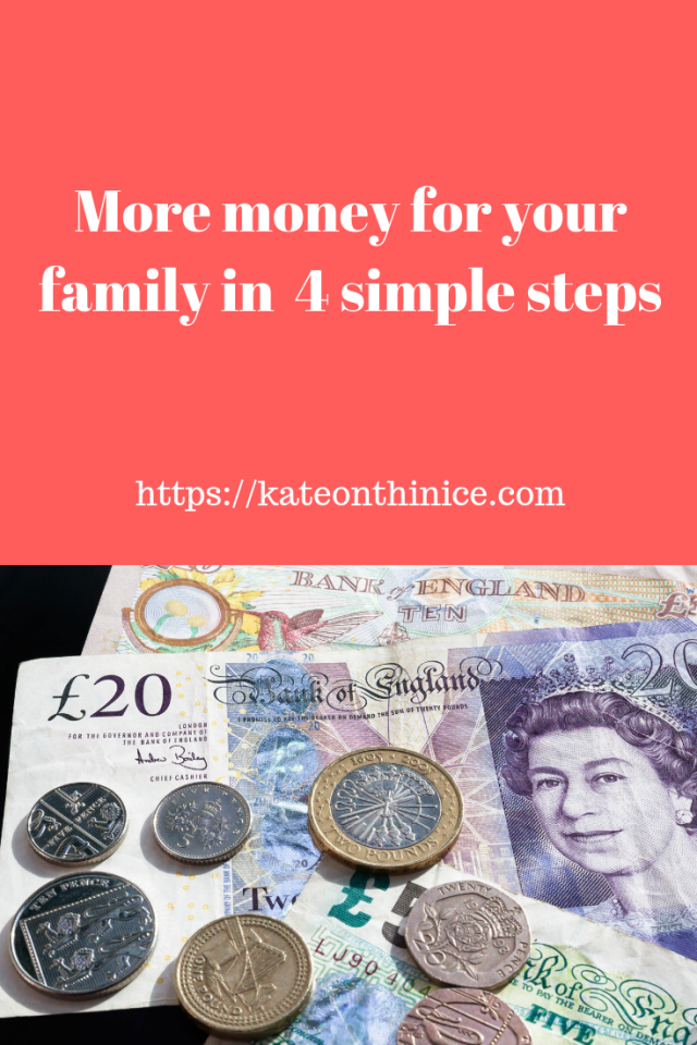 More Money For Your Family In 4 Simple Steps
