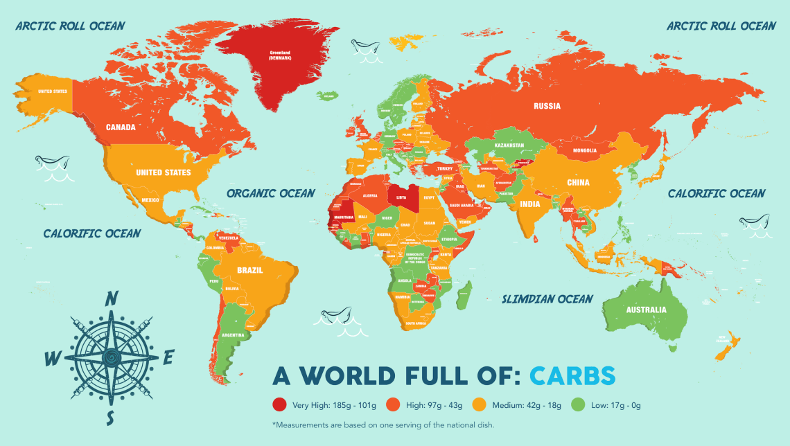 What Countries Eat Most Unhealthily
