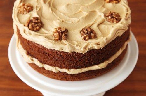 Easy Coffee And Walnut Cake Recipe