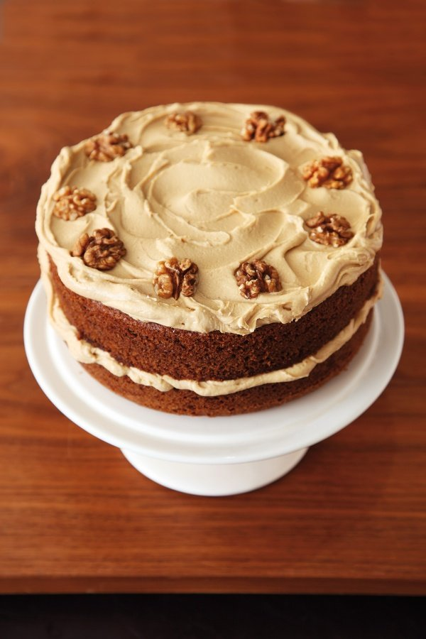 Easy Coffee And Walnut Cake Recipe