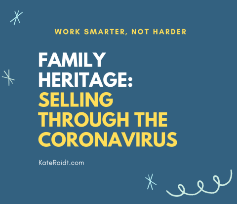 family heritage selling through coronavirus