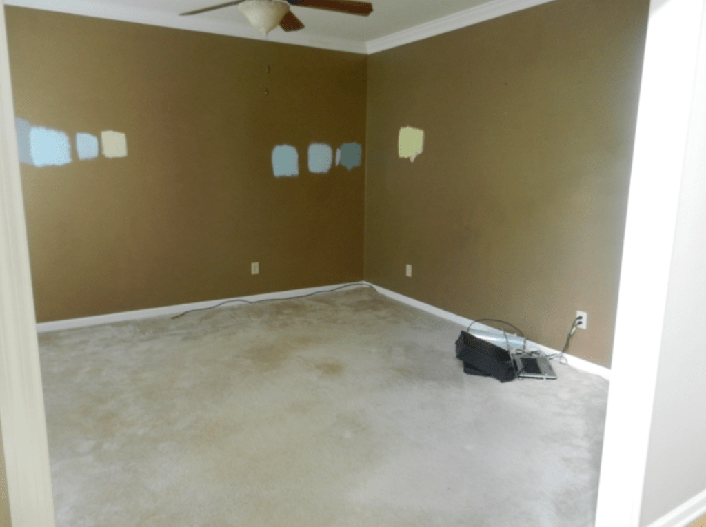 before after photo home renovation