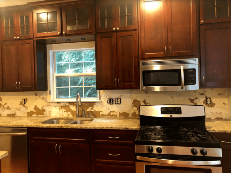before after photo kitchen renovation