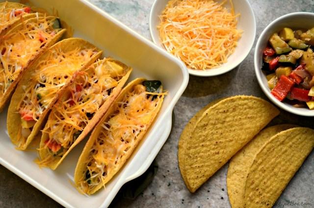 Baked Veggie Tacos 1
