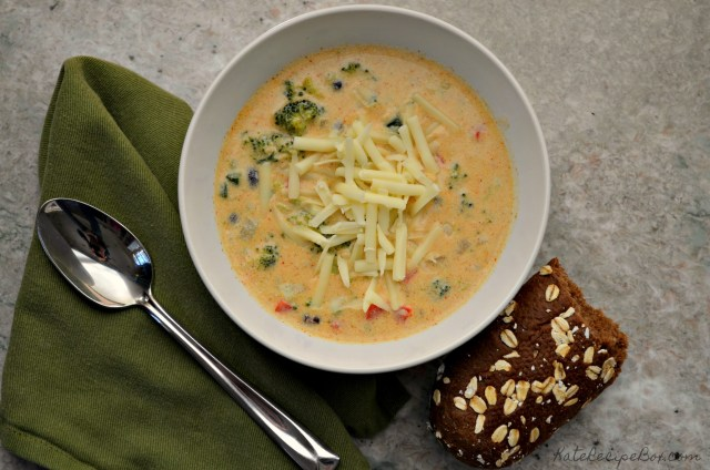 Southwest Broccoli Chowder 1