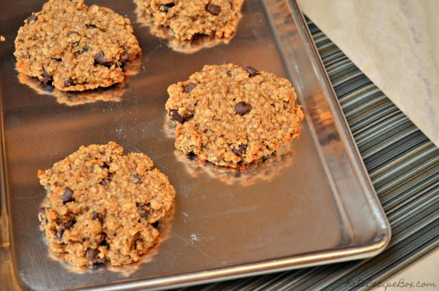 Banana Peanut Butter Breakfast Cookies 2