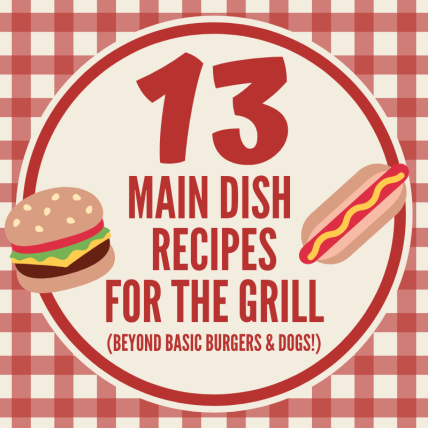 Main Dish recipes for the grill