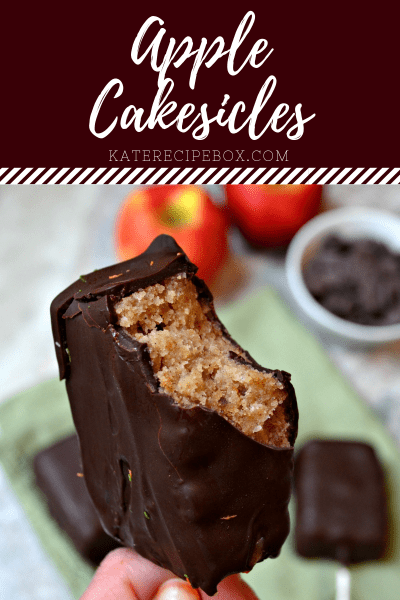 Apple Cakesicles