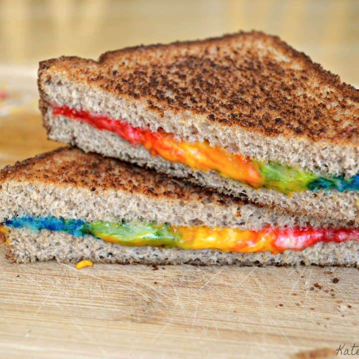 Unicorn Grilled Cheese