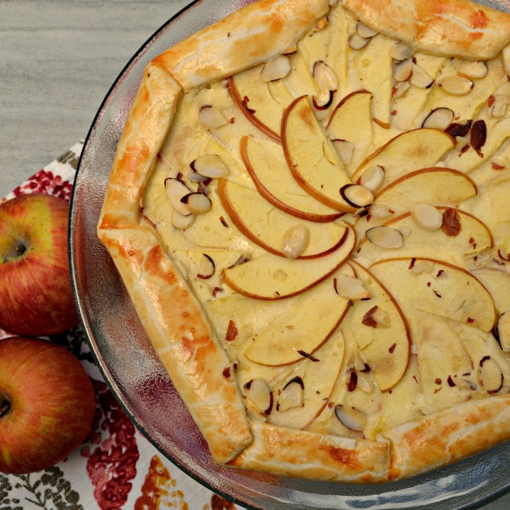 Almond Apple Galette