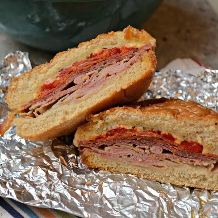 Slow Cooker Italian Sandwiches