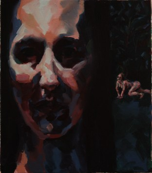 A Small Dark Painting, 2012, Oil on linen