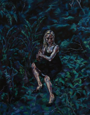 The Gully, 2012, Oil on linen