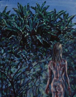 Monster Tree 3, 2011, Oil on linen