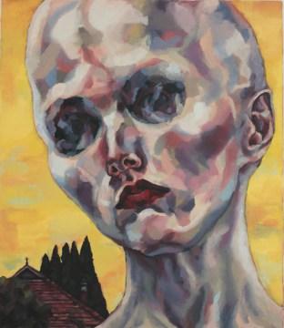The White Death, 2014, Oil on linen