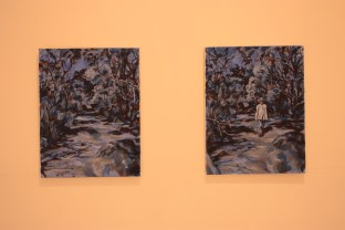 Vanishing Point, 2013, Acrylic on linen