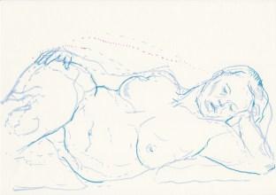 life drawing, Mae de la Rue