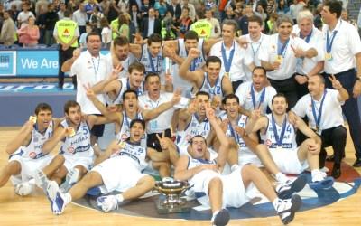 Όταν η Εθνική μπάσκετ έφτανε στην κορυφή της Ευρώπης για δεύτερη φορά