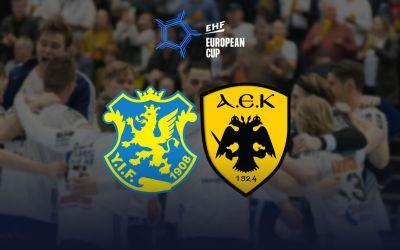 Κυπελλούχος Ευρώπης η Ένωση. Ίσταντς – ΑΕΚ 20-24