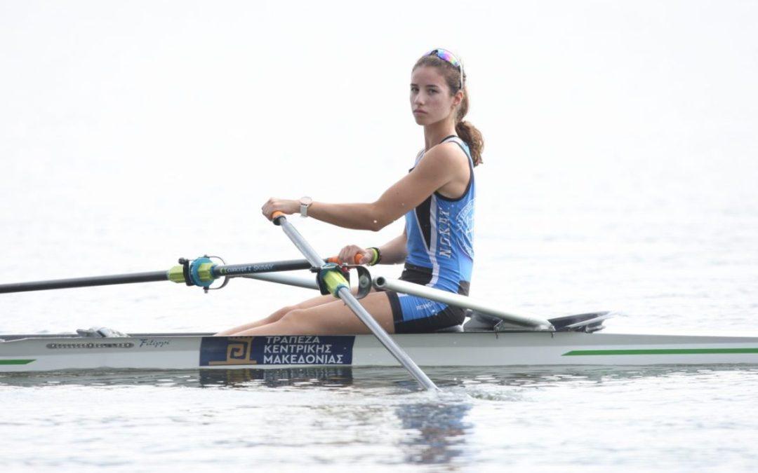 Χάλκινο μετάλλιο για την Μάρθα Κωνσταντινίδου στο Βαλκανικό Πρωτάθλημα Νεανίδων