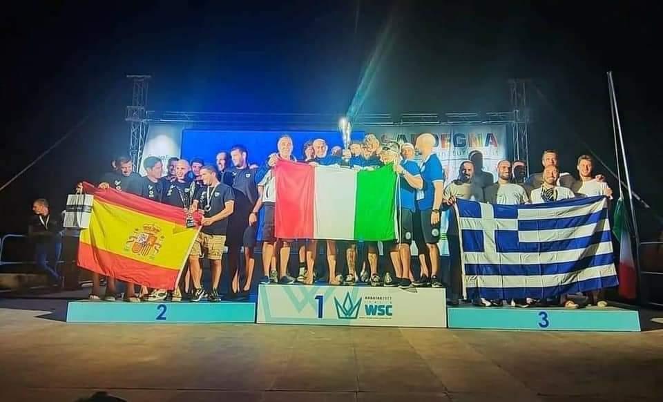 3η Η Εθνική Μας Στο 32ο Παγκόσμιο Πρωτάθλημα Υ/Β Αλιείας Της CMAS Στο Arbatax Της Σαρδηνίας