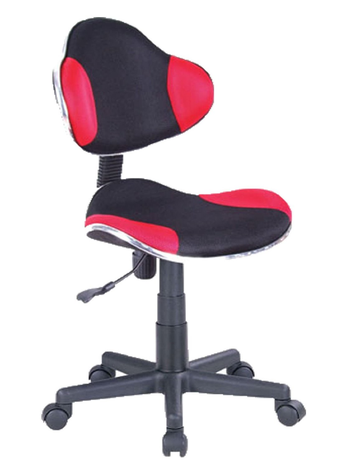 Red Desk Chair Computer Desk Office Chair W Mesh Fabric Black Red