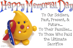Memorial Day: THANK YOU Soldiers, Past, Present, & Future