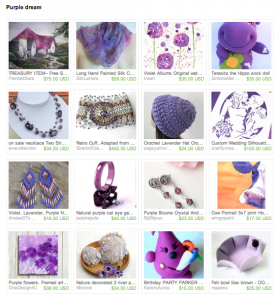 Purple Dream Etsy Treasury
