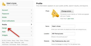 Twitter Tutorial - Landing Page - A Twitter Tutorial by KatersAcres